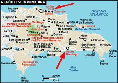 Sosua Dominican Republic Map - Map dominican republic