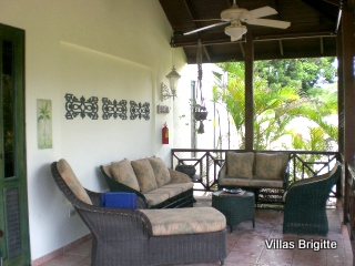Enjoy your Vacation Villa in the Dominican Republic on your private terrace.
